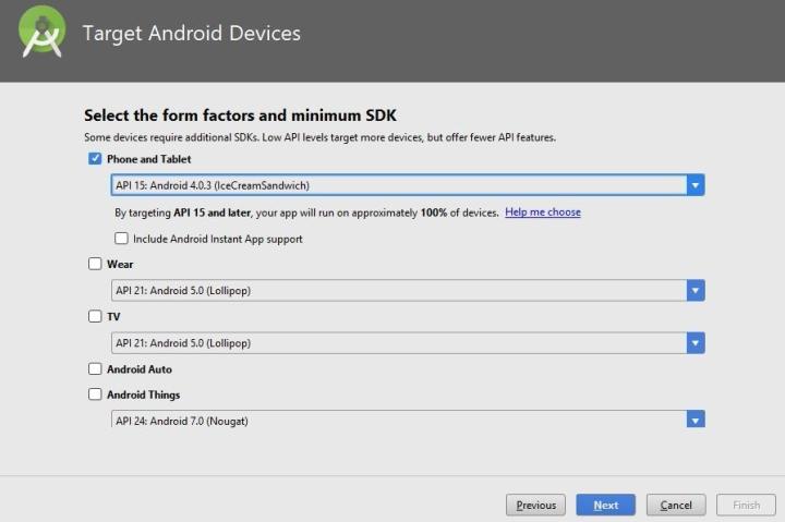 SDK Target Device